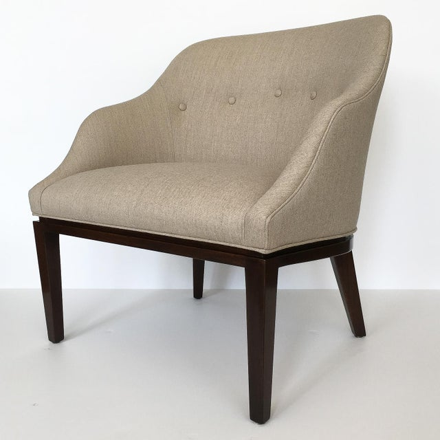 Mid-Century Modern 1950s Edward Wormley for Dunbar Lounge Chair For Sale - Image 3 of 13
