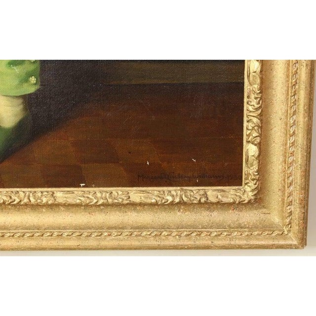1930s Portrait of Boy in Green For Sale - Image 5 of 7