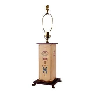 Wildwood Painted Tin Lamp