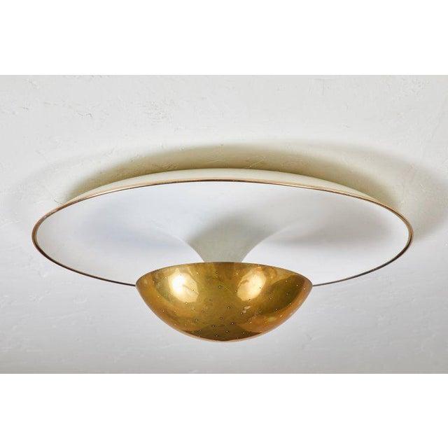 Italian 1950s Gino Sarfatti Ceiling Lamp Model #155 for Arteluce For Sale - Image 3 of 11