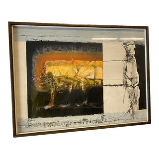 Joni Pienkowski Mixed Media Painting For Sale