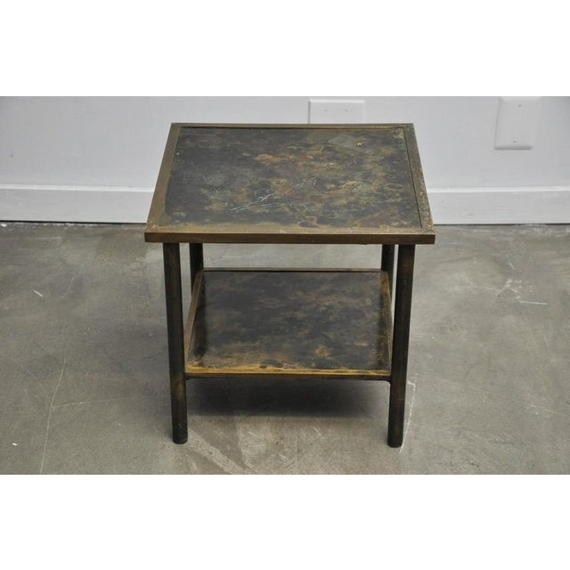 Philip and Kelvin LaVerne Bronze Side Table - Image 2 of 6
