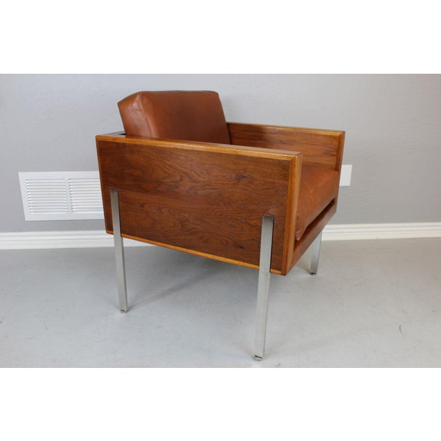 """Modern Harvey Probber Architectural Series """"Cube"""" Chair For Sale - Image 3 of 9"""