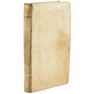 """Antique 18th Century Book, """"Alexander the Great's Expeditions"""" by Flavius Arrianus For Sale"""