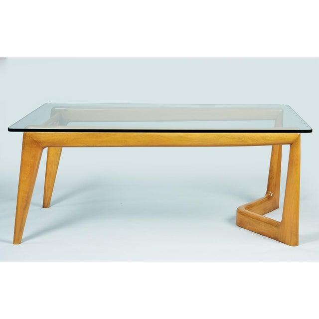 1950s 1950s Mid-Century Modern Pierluigi Giordani Biomorphic Dining Table For Sale - Image 5 of 13