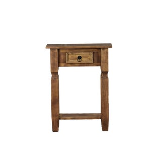 Reclaimed Wood French Country Side Table