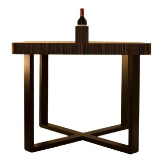 Oi Studio Lube Dining Table in Macassar Ebony