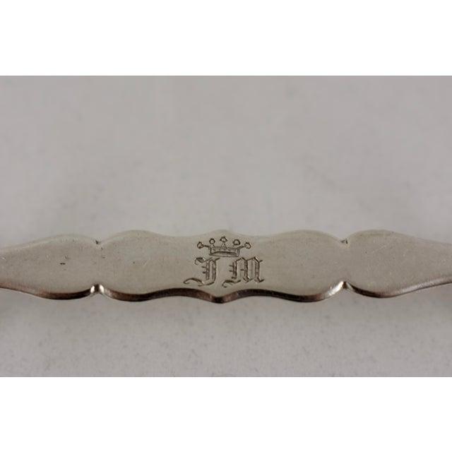 Continental European Sterling Silver Jack End Knife Rests, S/4 For Sale - Image 4 of 7