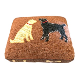 Footstool With Two Dogs For Sale