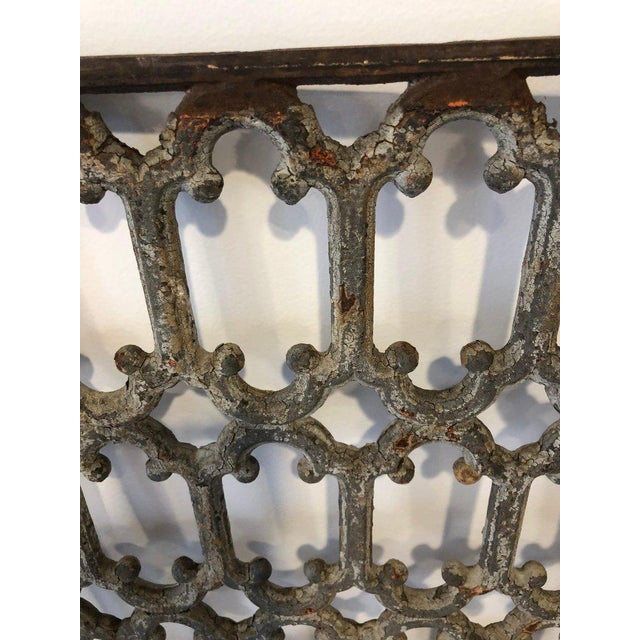 Mid 19th Century Mid 19th Century British Decorative Iron Panels- a Pair For Sale - Image 5 of 8
