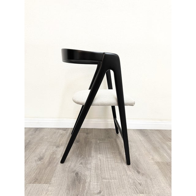 Mid Century Modern Italian Dining Chairs For Sale - Image 12 of 13