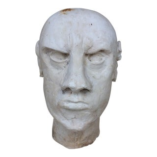 Mid 20th Century Plaster Bust