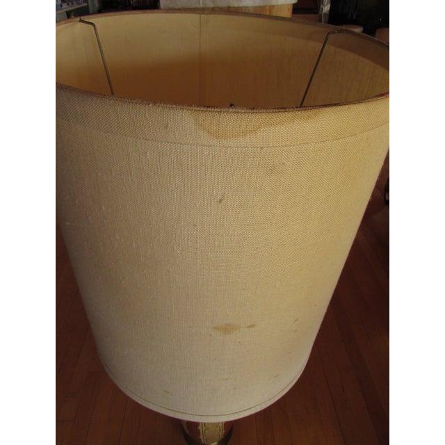 Mid-Century Ceramic Lamp - Image 8 of 8