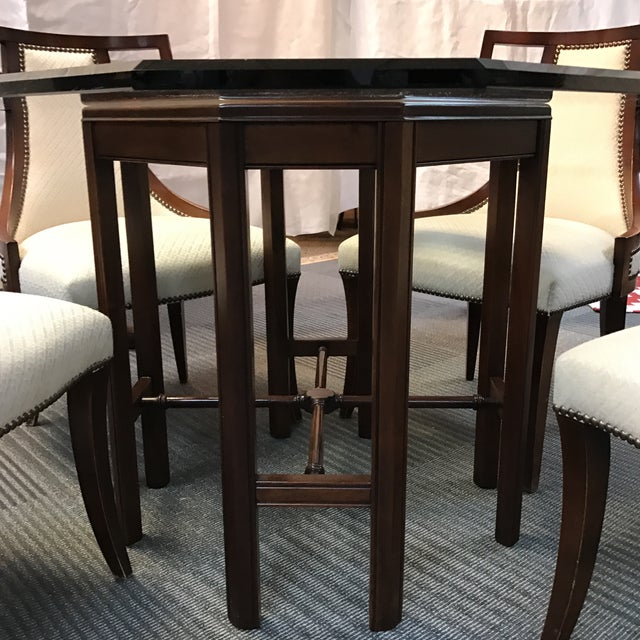 Baker Chinoiserie Dining Set - Image 5 of 11