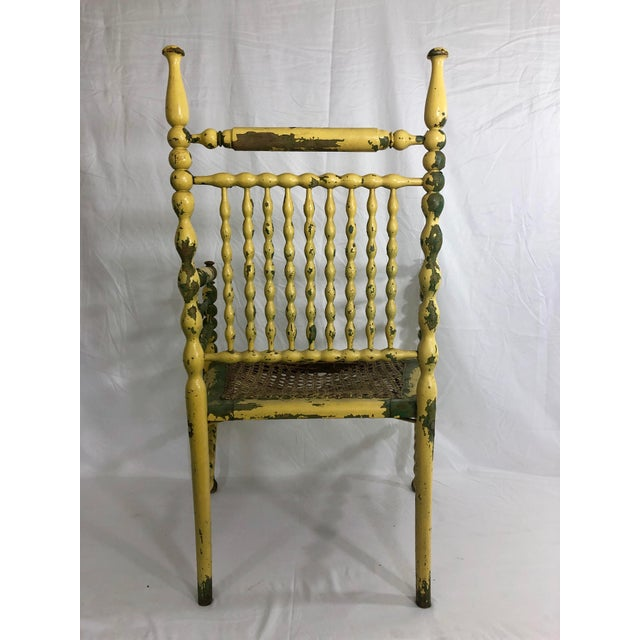 American Fancy Spindle Chair For Sale - Image 4 of 7