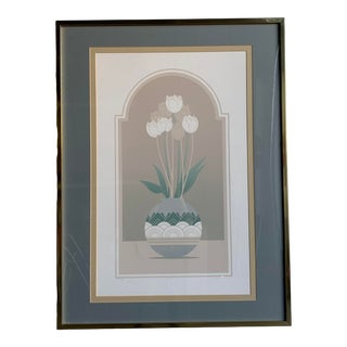 1980s Framed Pastel Art For Sale