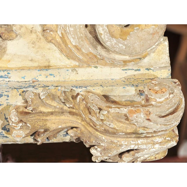 Early 18th Century French architectural carving For Sale - Image 5 of 7