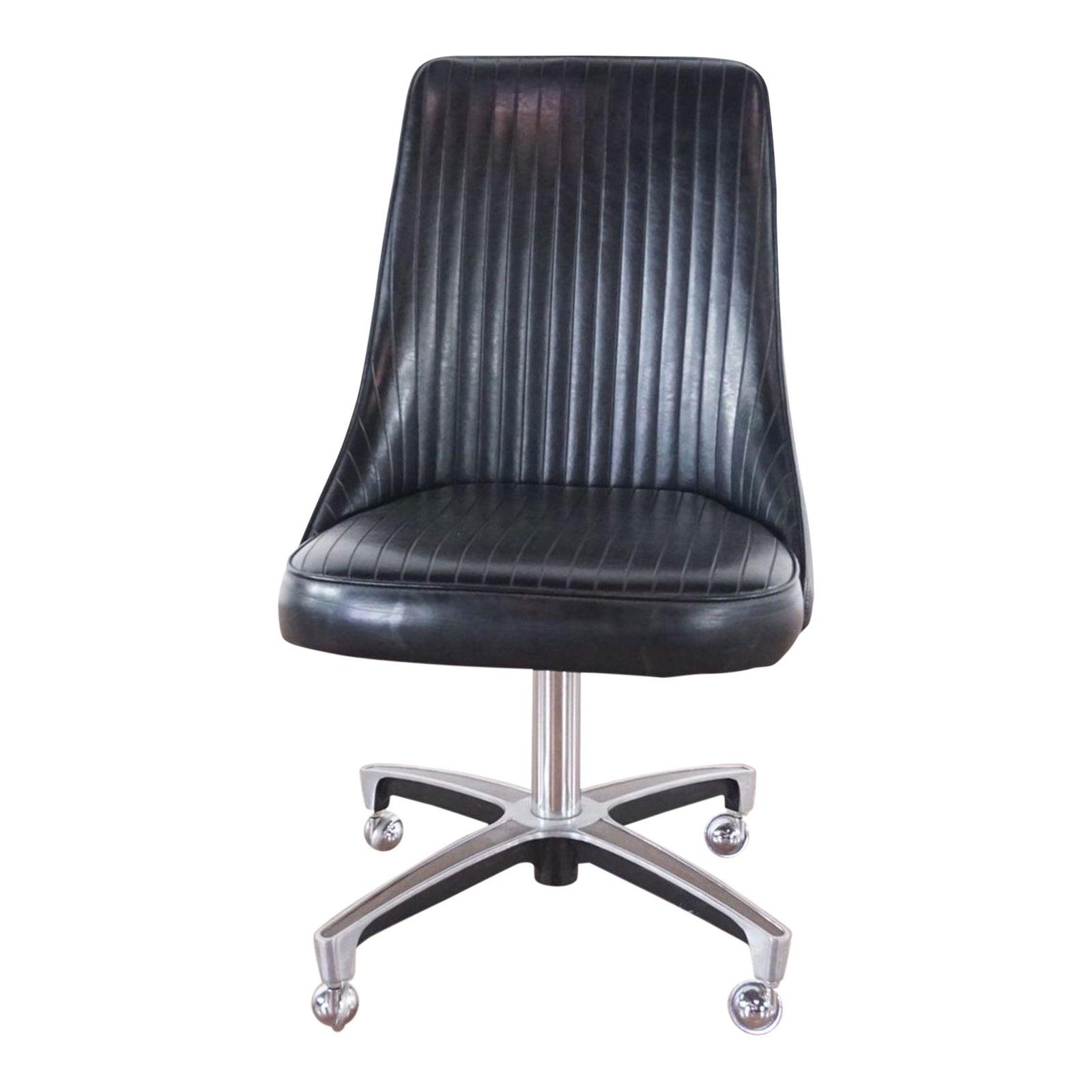 Peachy Vintage Chromcraft Office Chair Cjindustries Chair Design For Home Cjindustriesco