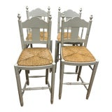 Image of Nantucket Style Bar Stools - Set of 4 For Sale