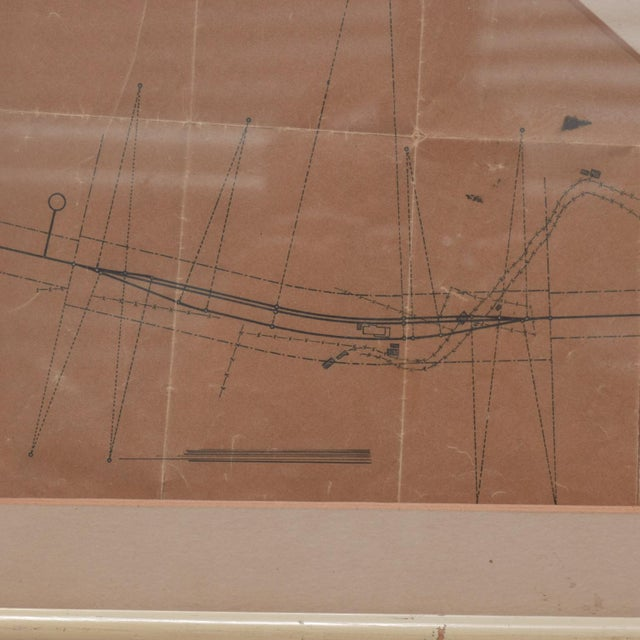 Art Architectural Sketch by Mario Pani and Jesus Garcia Collantes 1947 For Sale - Image 9 of 11