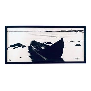 Karl Werner Gullers Scandinavian Mid-Century Modern Framed Original Print For Sale