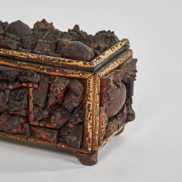 Early 19th Century Naive Box For Sale - Image 4 of 5