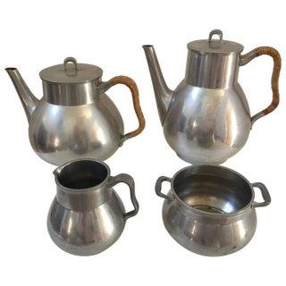 Coffee & Tea Set by Just Andersen For Sale