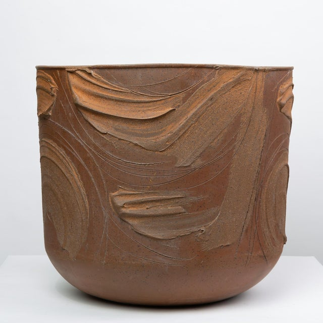 """Architectural Pottery Pro/Artisan """"Expressive"""" Planter by David Cressey for Architectural Pottery For Sale - Image 4 of 9"""