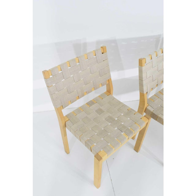 Gray Alvar Aalto 615 Chairs by Artek - Set of 8 For Sale - Image 8 of 10