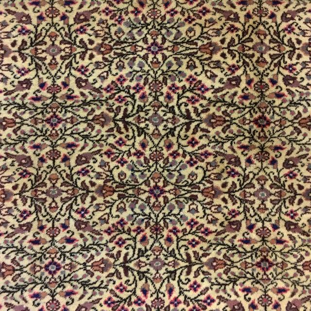 "Floral Kayseri Carpet - 6'6"" x 9'4"" For Sale - Image 4 of 5"