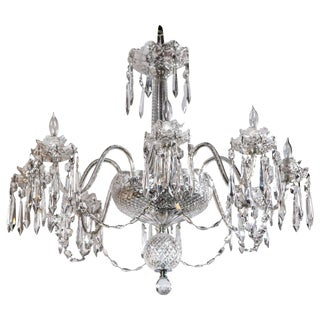 Waterford Crystal Chandelier For Sale