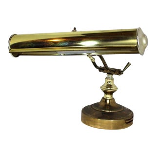 1950s Vintage Heyco Solid Brass Double Light Lamp