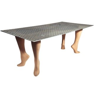 "Playful Pop Art ""Footsie"" Coffee Table For Sale"
