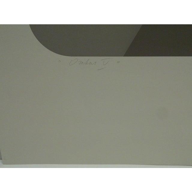 "Limited Numbered (18/60) Signed Print ""Oribus Iv"" Mike Kutchner For Sale - Image 4 of 6"