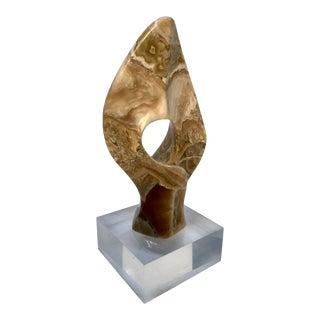 Abstract Onyx Sculpture by Leonardo Nierman . For Sale