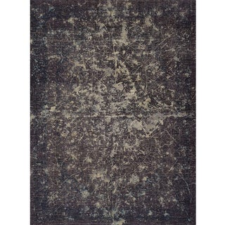 "Schumacher Patterson Flynn Martin Trifid Hand-Knotted Wool Modern Rug - 9'6"" X 12'7"" For Sale"