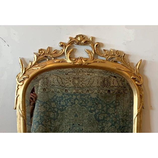 Estate find - beautiful gold leaf mirror.