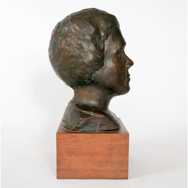 Mid 20th Century Plaster Bust For Sale - Image 5 of 9