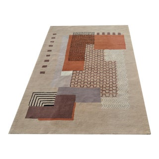 Mid-Century Modern Carpet, Rug by JJB For Sale