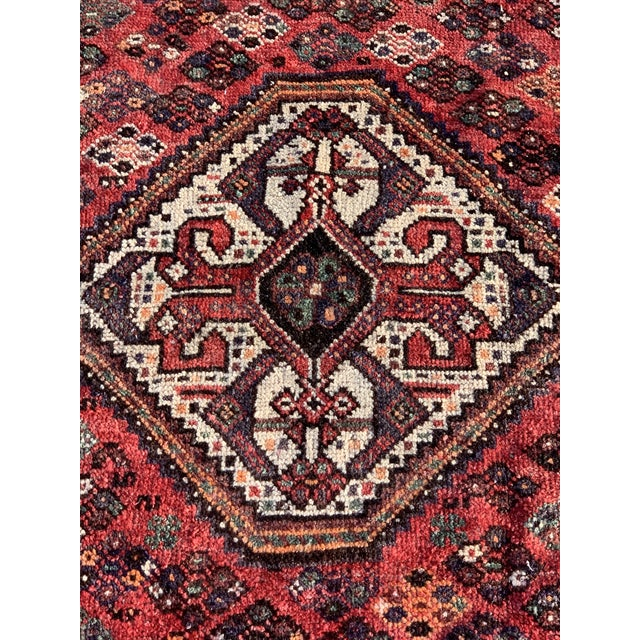 Islamic 1940s Vintage Persian Qasghi Rug - 5′1″ × 7′10″ For Sale - Image 3 of 13