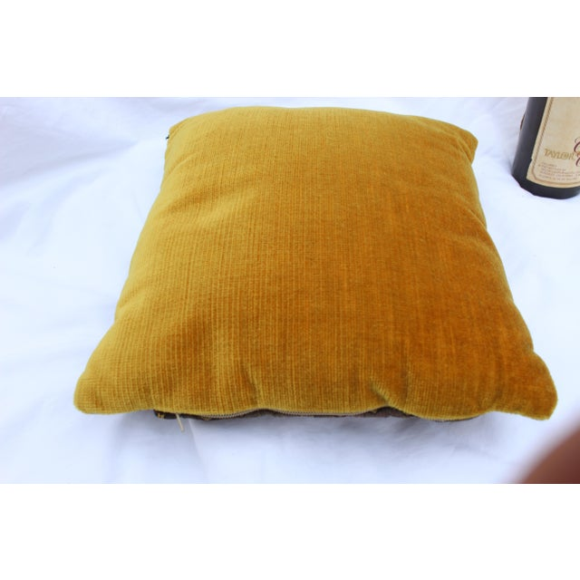 Gothic 20th Century Renaissance Style Firm Support Pillow For Sale - Image 3 of 9