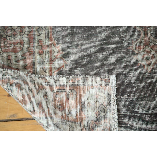 """Vintage Oushak Distressed Rug - 3'8"""" X 5'4"""" For Sale In New York - Image 6 of 7"""