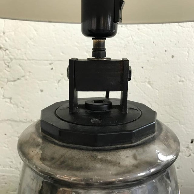 Mid-Century Modern Ceramic Isolant Lamp For Sale - Image 3 of 5
