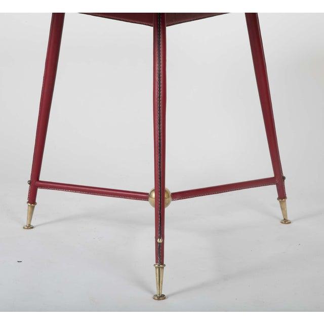 Jules Leleu Pair Of Jules Leleu Side Tables For Sale - Image 4 of 13
