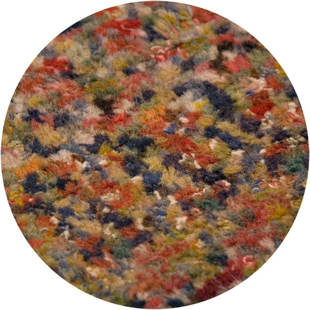 1970s Vintage Mid 20th Century Swedish Pile Rug For Sale - Image 5 of 6