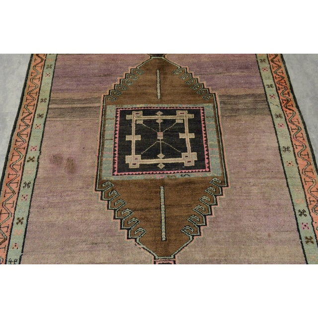 """Turkish Hand-Knotted Runner Rug - 5'7"""" x 13'9"""" - Image 8 of 11"""