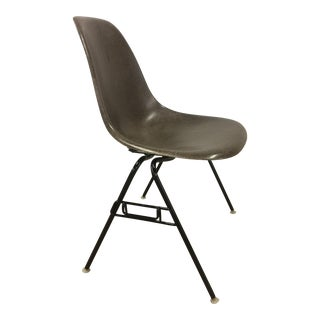 Eames for Herman Miller Seal Brown Fiberglass Shell Chair For Sale