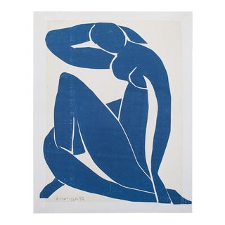 """Henri Matisse """"Blue Nude"""" First German Edition Poster For Sale"""