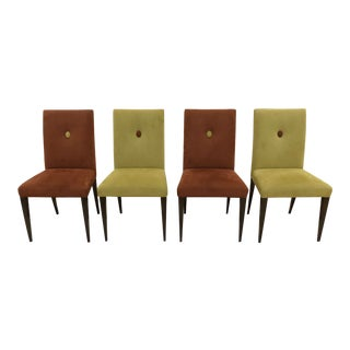 Swaim Kaleidoscope Axis Dining Chairs- Set of 4 For Sale