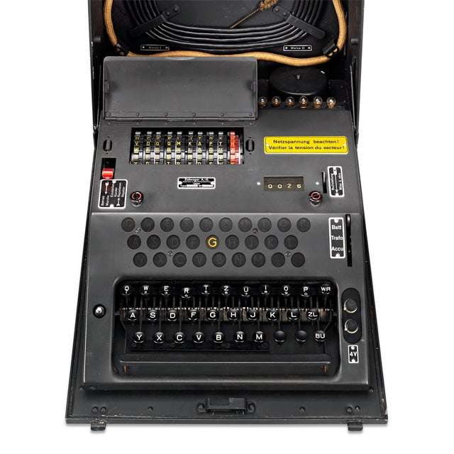 Industrial Swiss Nema Cipher Machine For Sale - Image 3 of 6